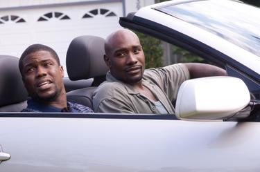Kevin Hart as Tree and Morris Chestnut as Dave Johnson in &quot;Not Easily Broken.&quot;